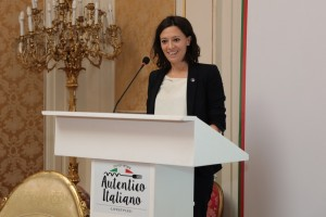"İtalyan Mutfak Okulu ""ALMA"", bayan Veronica Filippi - İTALYAN MUTFAĞI HAFTASI"