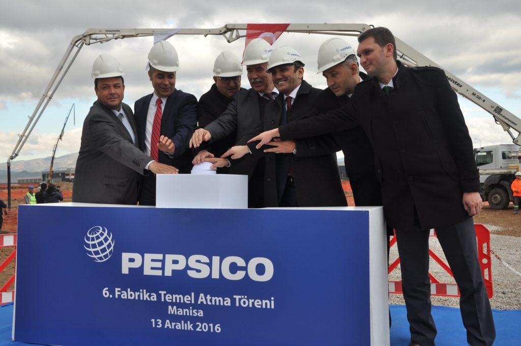 PepsiCo Türkiye'deki 6'ncı Fabrikasının Temelini Manisa'da Attı