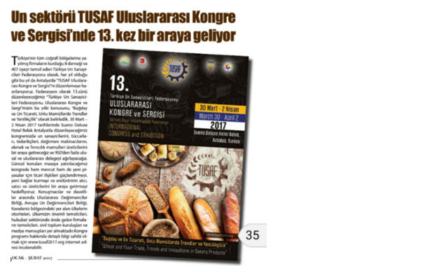 Un Sektörü TUSAF Uluslararası Kongre Ve Sergisi'nde 13. kez Bir Araya Geliyor