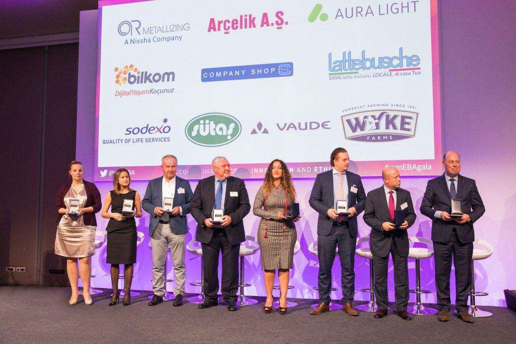 Sütaş, Avrupa İş Ödülleri'nde  Onur Nişanı'na layık görüldü!