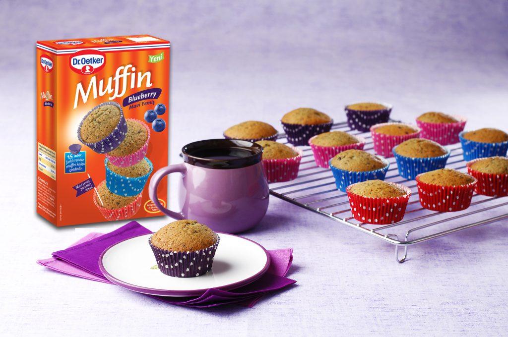 Dr. Oetker'den Bir İlk Daha; Blueberry Muffin!