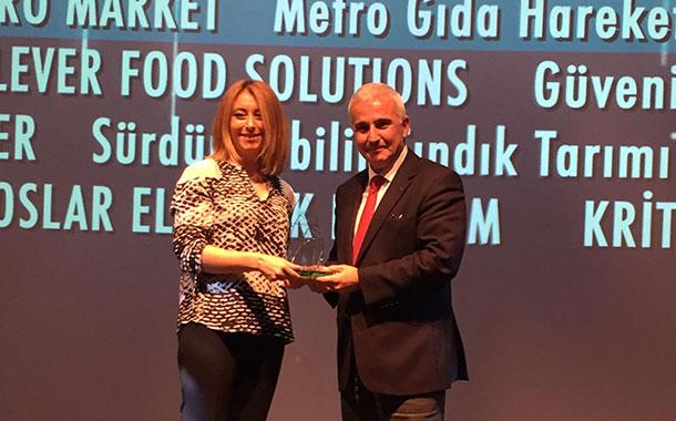 Metro Toptancı Market 'Metro Gıda Hareketi' ile Sürdürülebilir İş Ödülleri'nin Sahibi Oldu