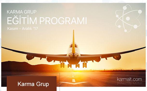 Karma Grup Kasım-Aralık Eğitim Programını Yayınladı