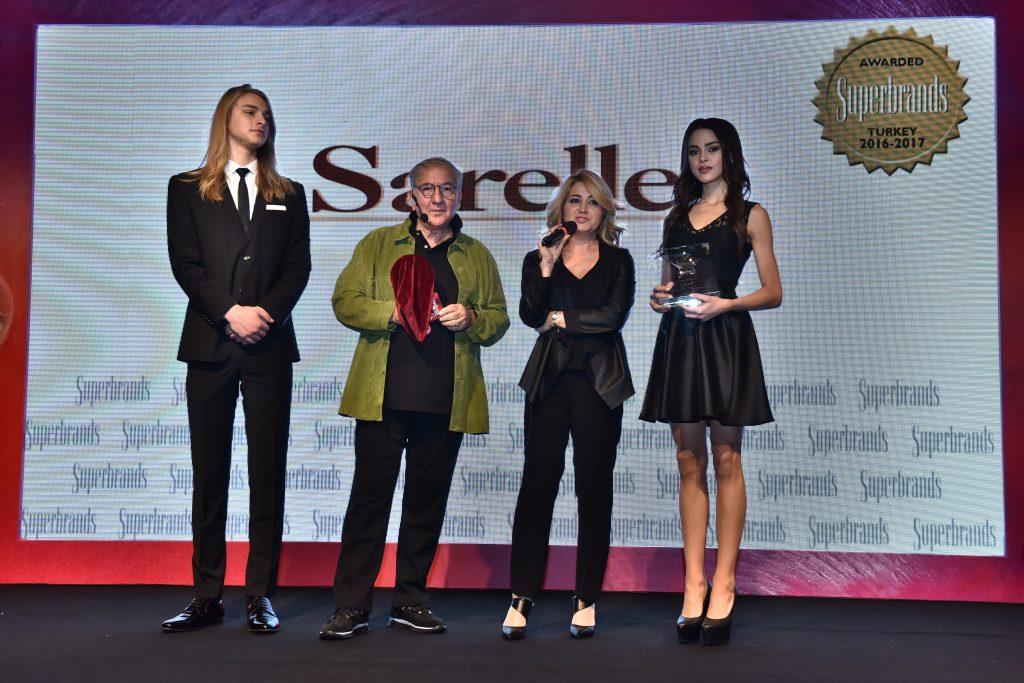 Sarelle Türkiye'nin Süper Markası Seçildi