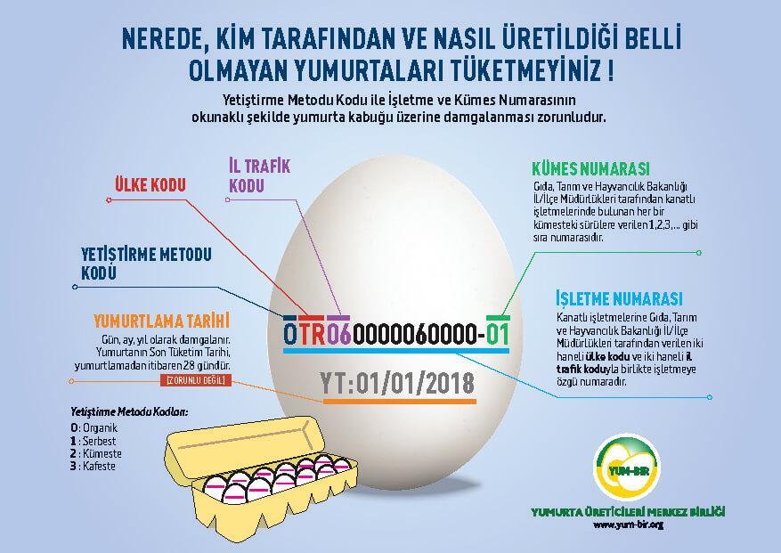 Yum-bir Yumurta Üretim Kodu Şeması Yayınladı