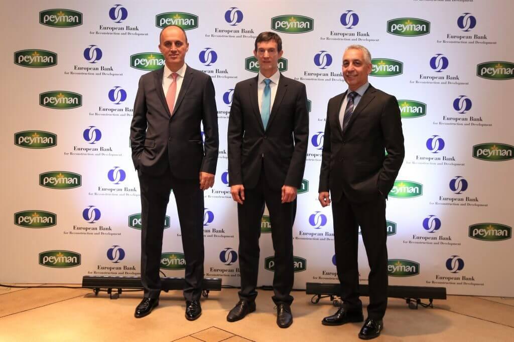 Peyman Yatırımlarına 32 milyon Euroluk EBRD Kredisi