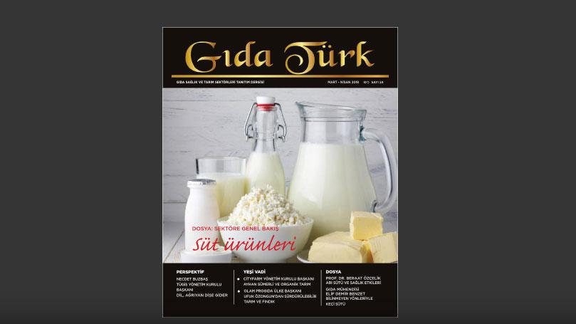 Gıda Türk Mart Nisan 2018 Sayısı