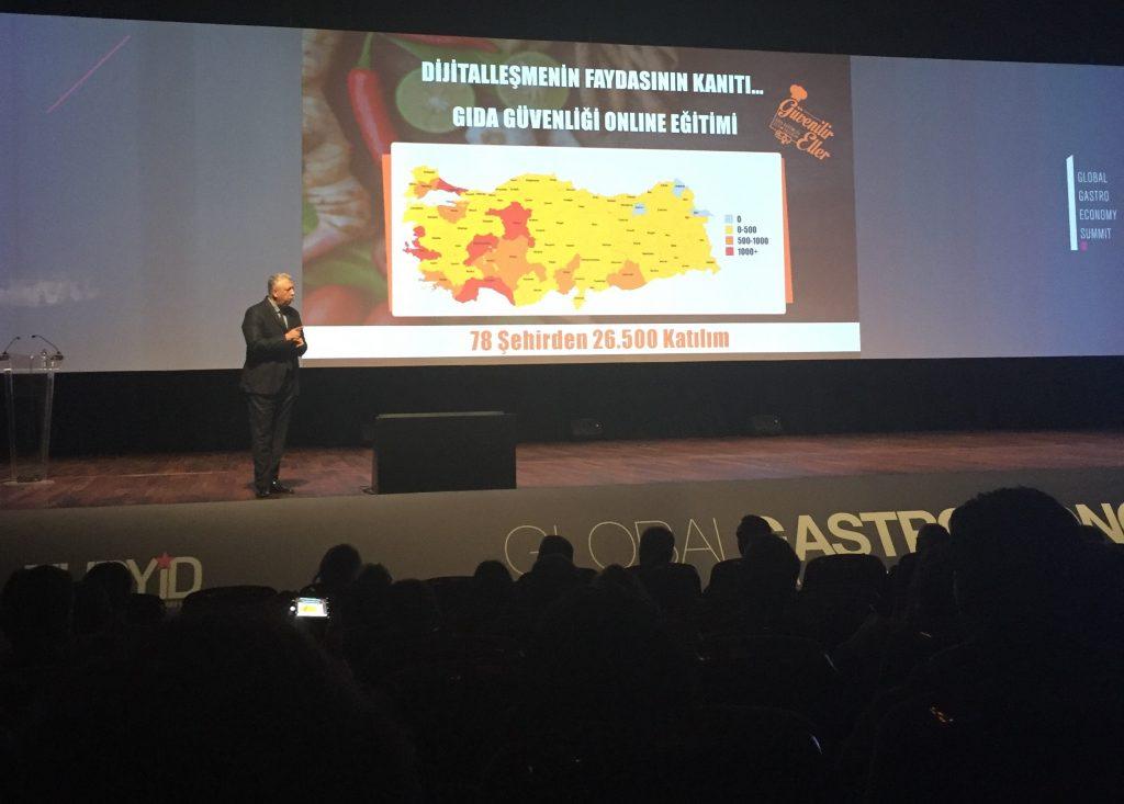 Unilever Food Solutions, Gastroekonomi Zirvesi'nde dijital vizyonunu açıkladı