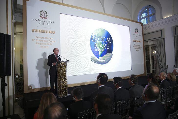 Ferrero, 8. Sürdürülebilirlik Raporu