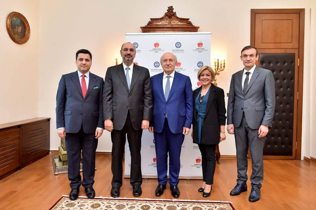 Marmara Üniversitesi ve Sabri Ülker Vakfı Toplum Sağlığının Geleceği İçin Araştırma Merkezi Kuruyor