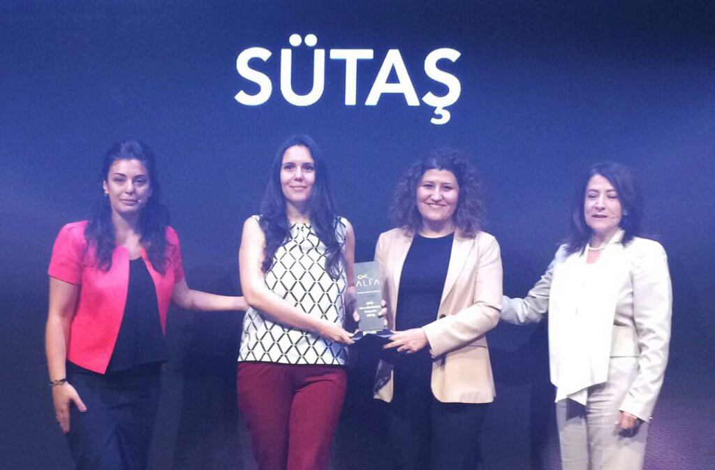 Tüketicilerden Sütaş'a iki A.L.F.A Ödülü