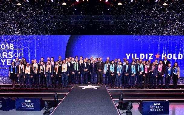 """Yıldız Holding, """"Senenin Yıldızları""""nı 11'inci kez ödüllendirdi"""