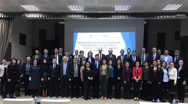 """FAO ile Tarım ve Orman Bakanlığı işbirliğinde Sürdürülebilir Kalkınma Amaçları'nın ulusallaştırılmasına dair ilk """"Farkındalık Arttırma Çalıştayı"""