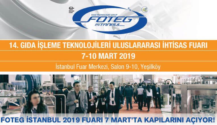 Foteg İstanbul 7 Mart 2019'da Kapılarını Açıyor