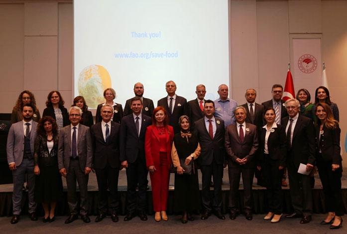 """FAO ve Tarım ve Orman Bakanlığı iş birliğinde gerçekleştirilen """"GIDANI KORU Kampanyası""""nın ikinci teknik çalıştayı Ankara'da gerçekleşti."""