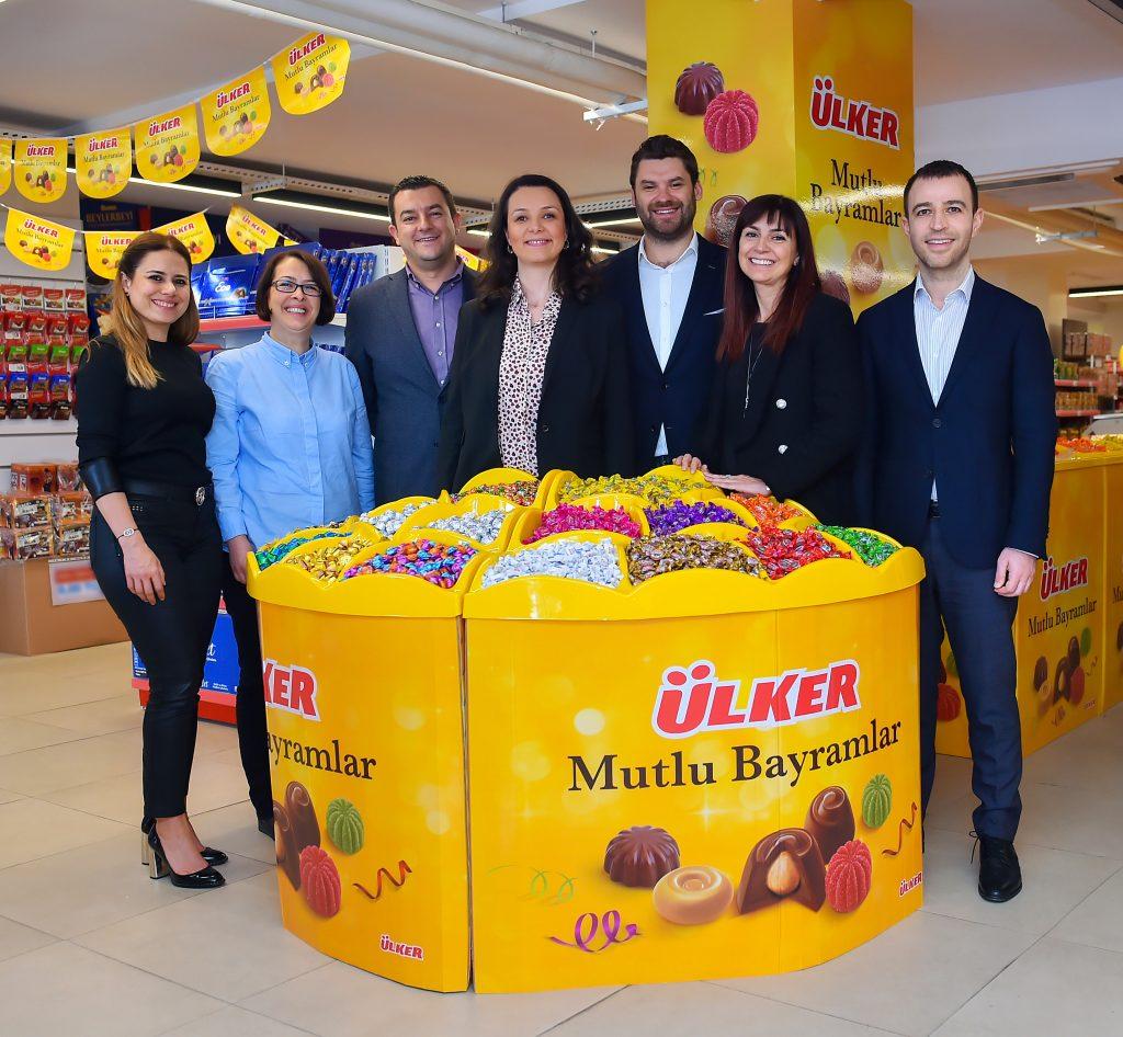 2018'de 556 milyon adet Ülker bayram çikolatası tüketildi