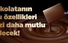 Çikolatanın Sadece Mutlulukla Değil Sağlıkla da İlgisi Var