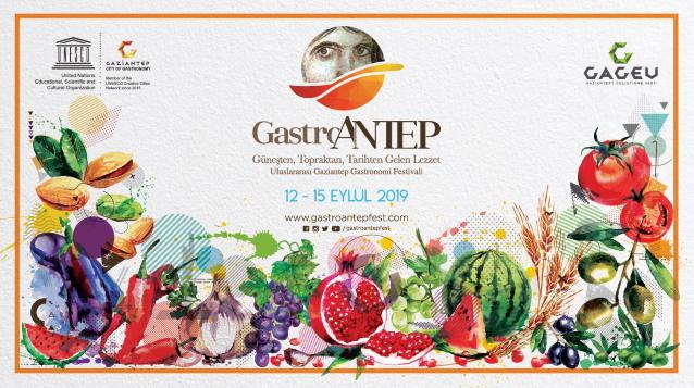 GastroAntep Uluslararası Gaziantep Gastronomi Festivali'nin ikincisi, bu yıl 12-15 Eylül tarihlerinde gerçekleştirilecek.
