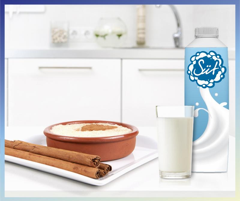 Süt içmeyi sevmeyen çocuklara, tatlı bir alternatif: Muhallebi