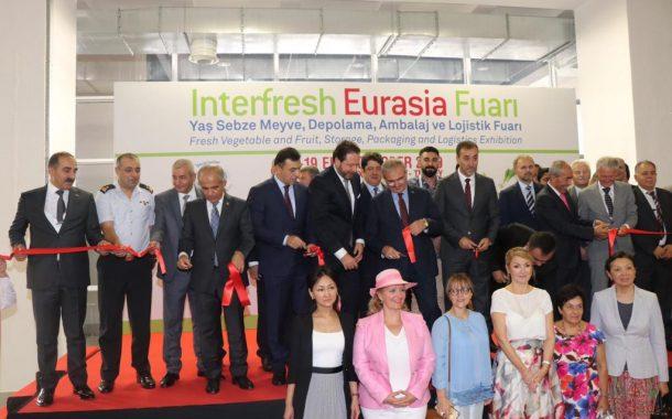 Yaş Meyve Sebze Sektörünün Tek Fuarı Interfresh Eurasia kapılarını açtı