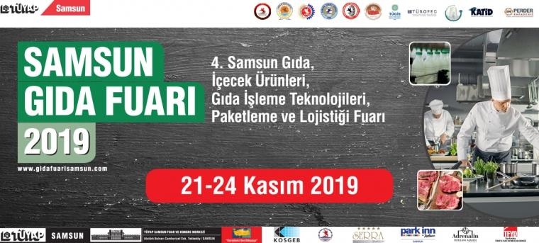 Samsun 4. Gıda Fuarı 21-24 Kasım 2019'da