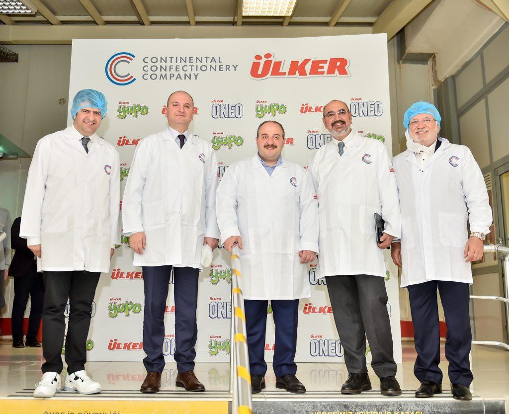 Bakan Varank Avrupa'nın En Büyük Özel Markalı Sakız Üreticisi Ccc'yi Ziyaret Etti