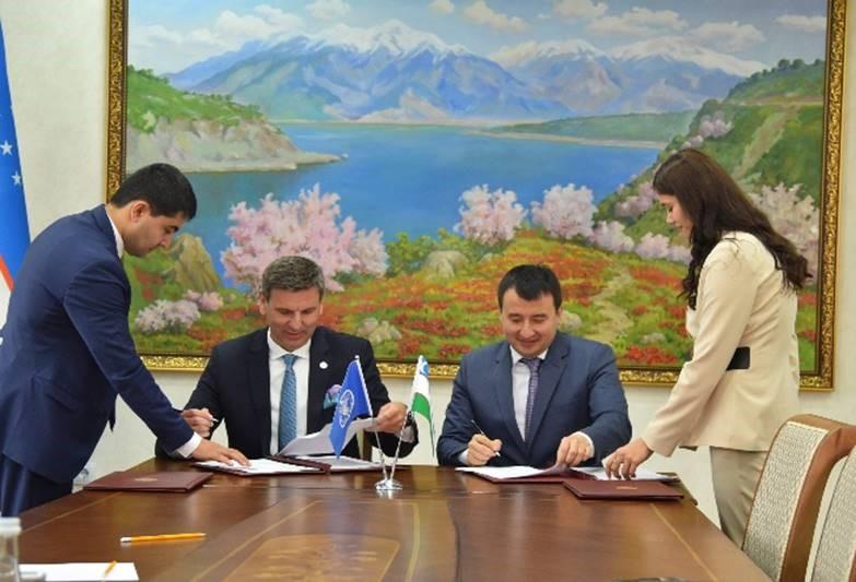 FAO-Türkiye Ortaklık Programı ikinci dönemi Türkiye ve Özbekistan'ın proje belgelerini imzalamasıyla başladı