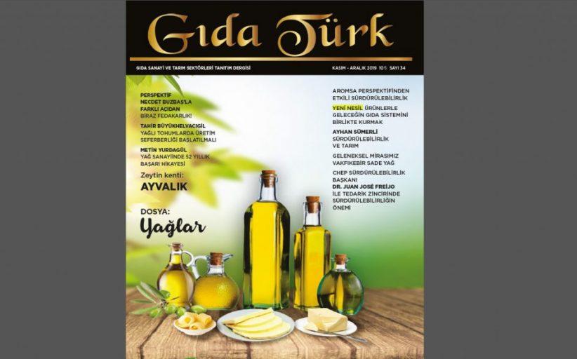 Gıda Türk Dergisi Kasım Aralık 2019