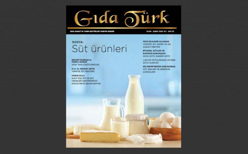 Gıda Türk Dergisi Ocak Şubat 2020