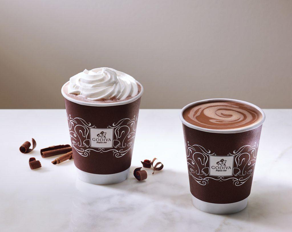 Godıva'nın Gerçek Sıcak Çikolata Lezzetini Sunan Chocolıxır Serisinden, Yepyeni İki Lezzet!