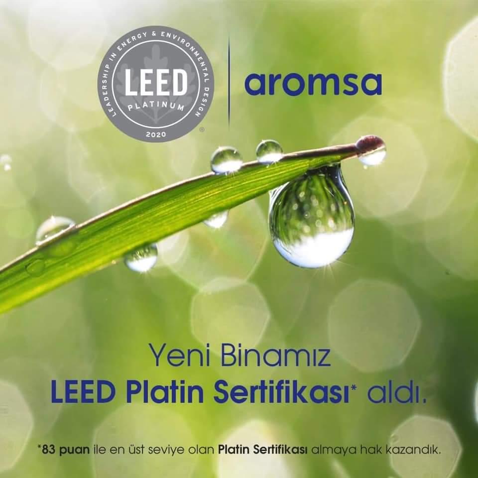 Aromsa'ya Platin Sertifikası