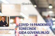 Covid-19 Pandemisi Sürecinde Gıda Güvenirliği