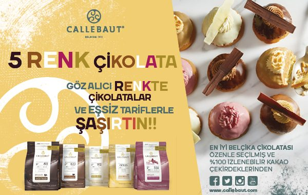 Callebaut 5 Renk Çikolata