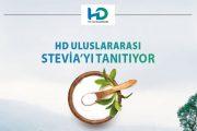 HD ULUSLARARASI STEVIA'YI TANITIYOR