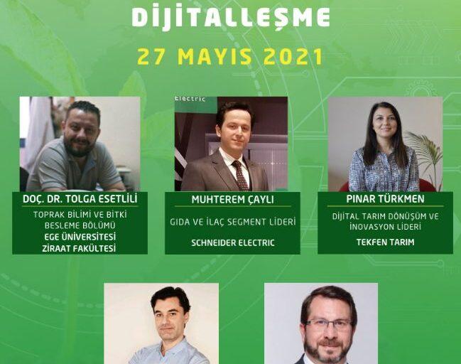 27 Mayıs Tarım Sektöründe Dijitalleşme Webinarı