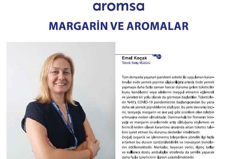 Aromsa Margarin ve Aromalar